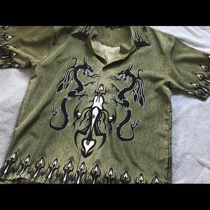 Sapphire Lounge Men's Short Sleeve Shirt XL